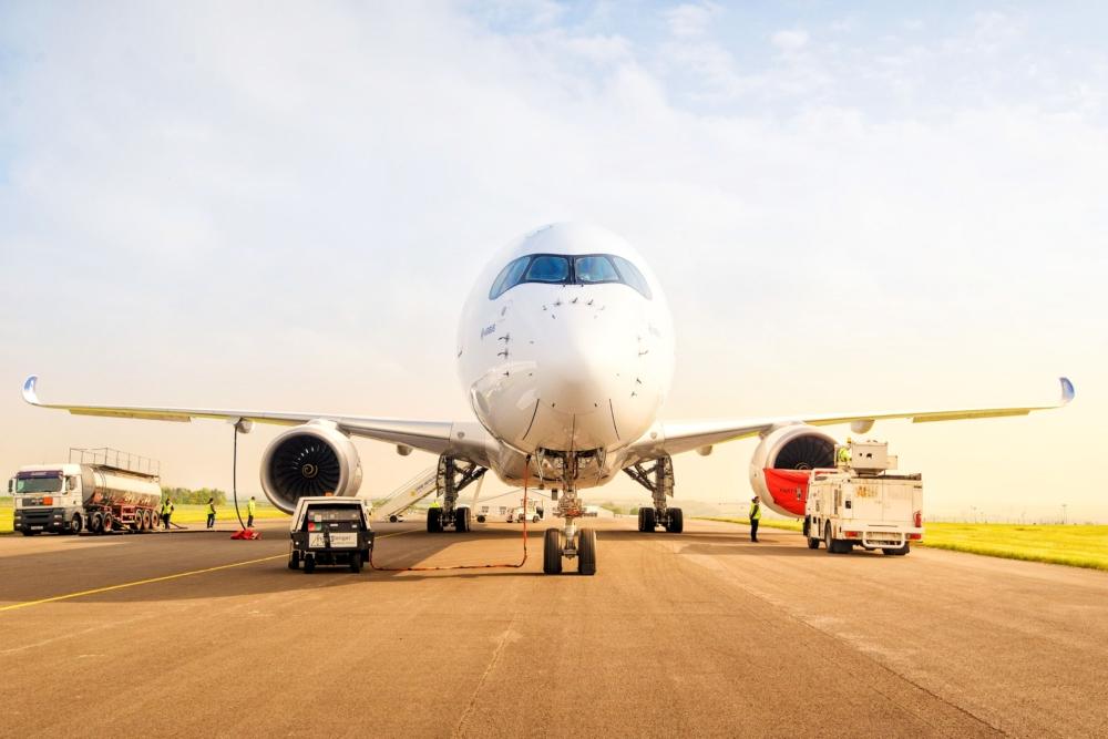 A350 1000 Cardiff International Airport