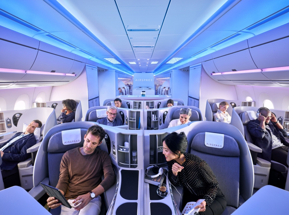 Airbus A350 Airspace Cabin