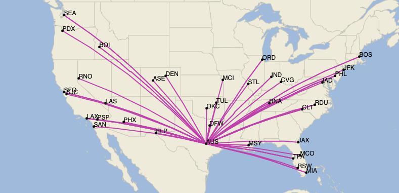 Austin: A Unique Glimpse At The Future For American Airlines