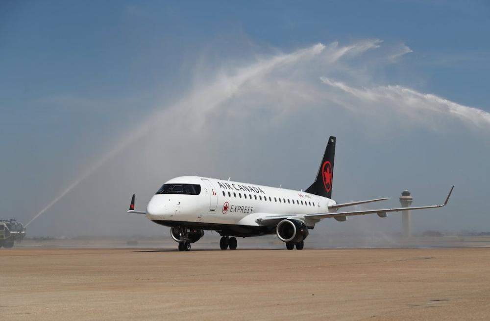 Air Canada Dallas to Toronto (1)