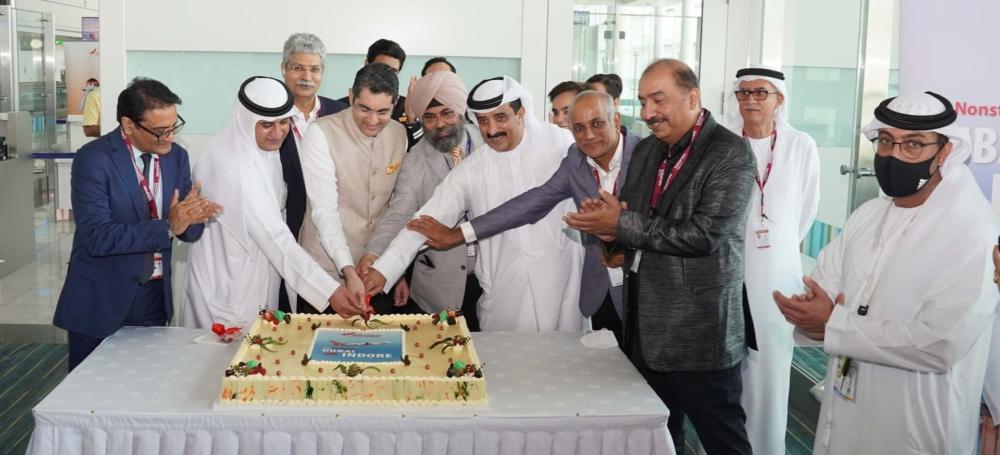 Air India Dubai to Indore