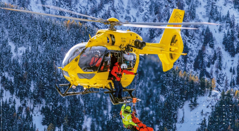 Airbus Helicopters 2021 civil calendar – January