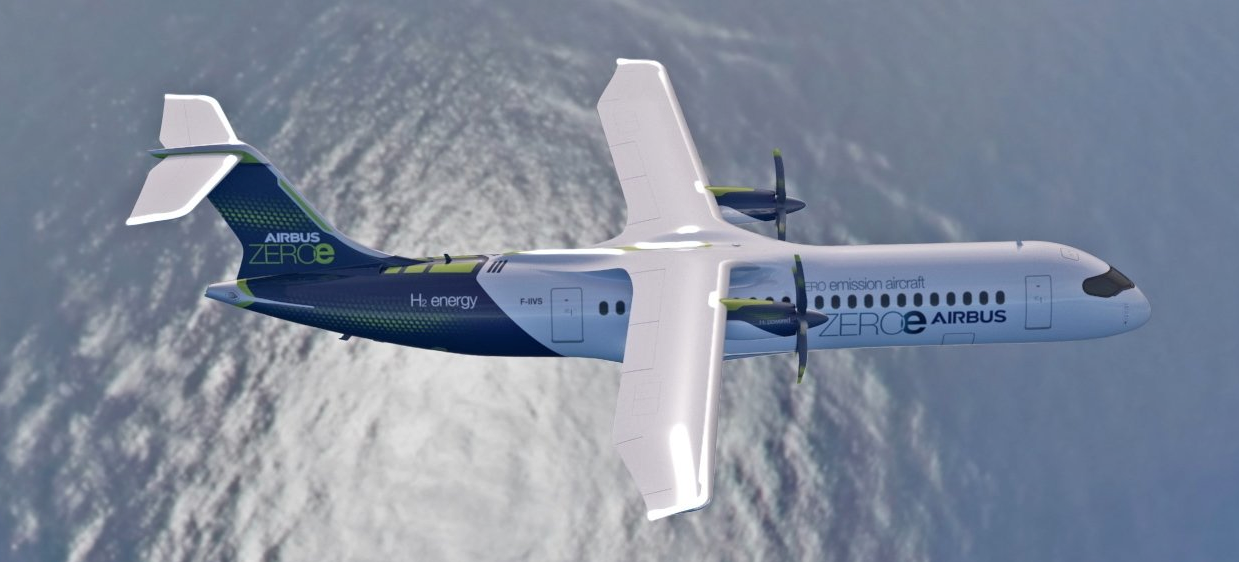 Air New Zealand Partners With Airbus To Seek Hydrogen Flight