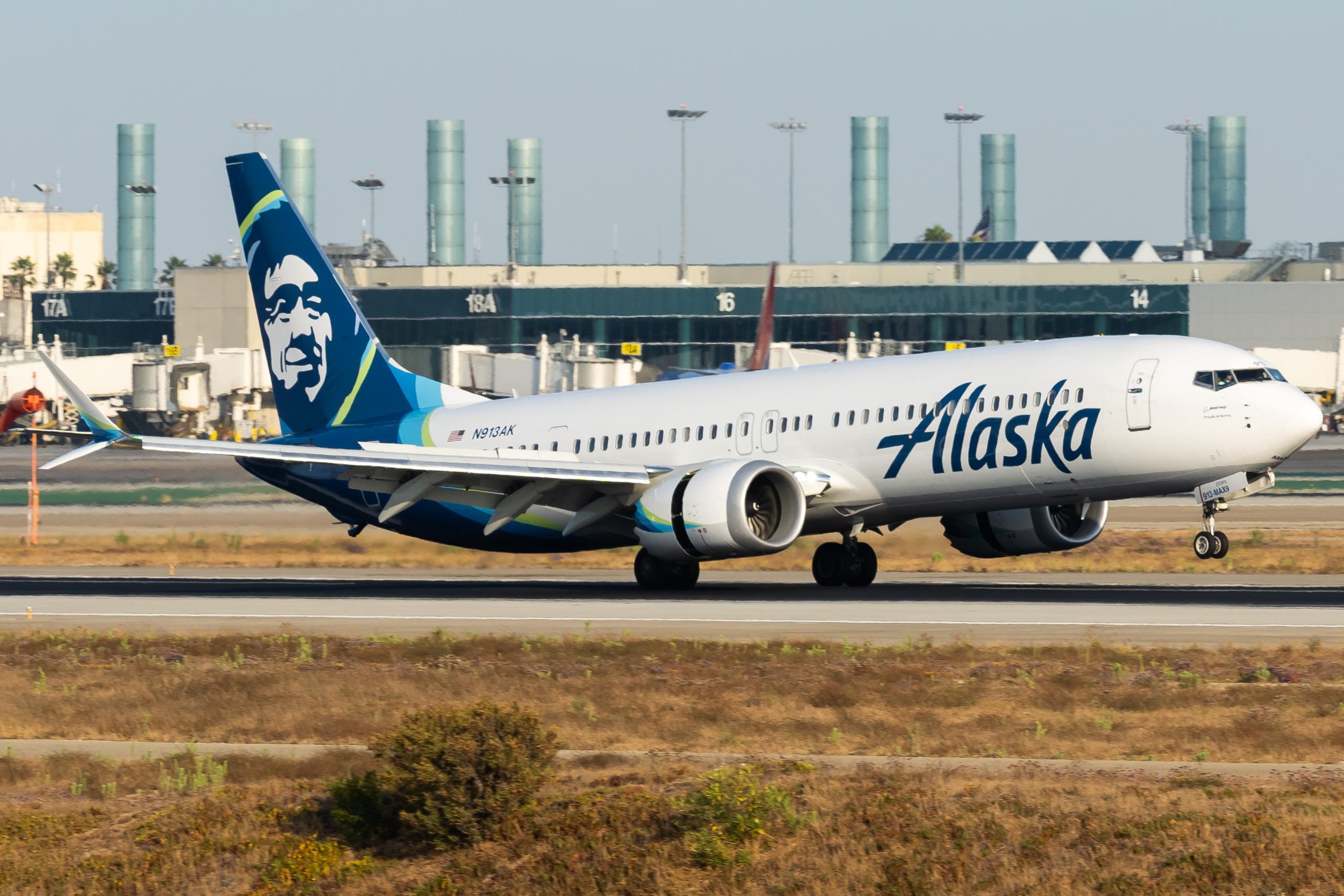 Alaska Boeing 737 MAX