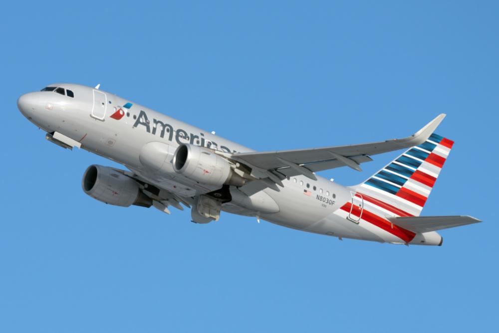 American A319