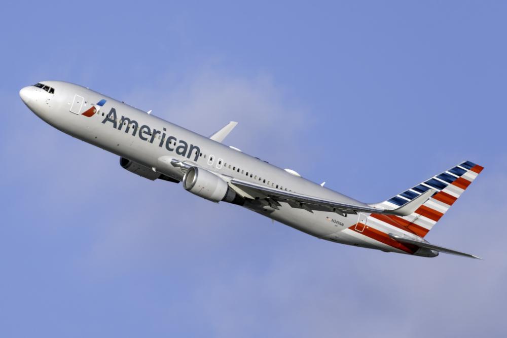 American B767