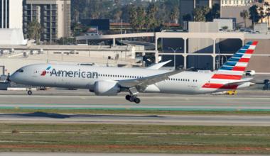 American B787