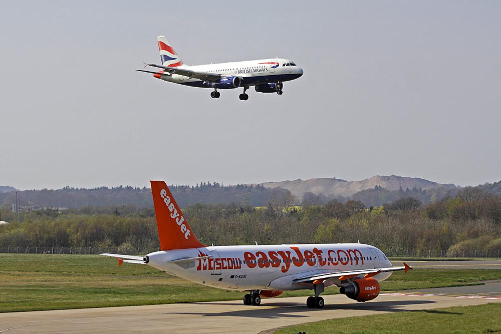 British Airways easyJet