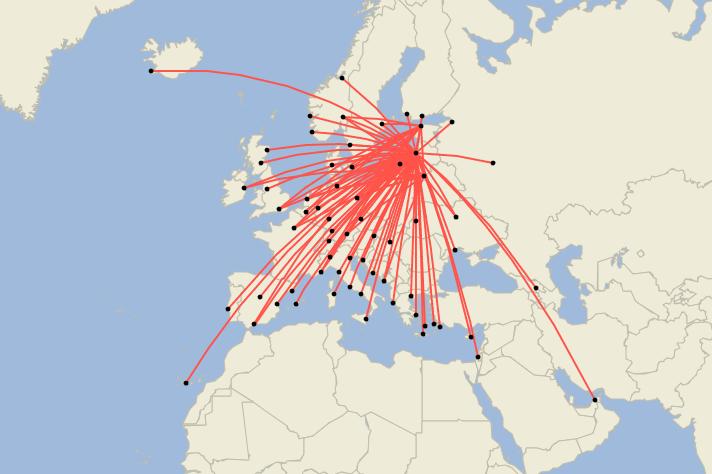 airBaltic Surpasses Pre-Pandemic Route Network