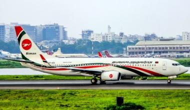 Biman Bangladesh Boeing 737