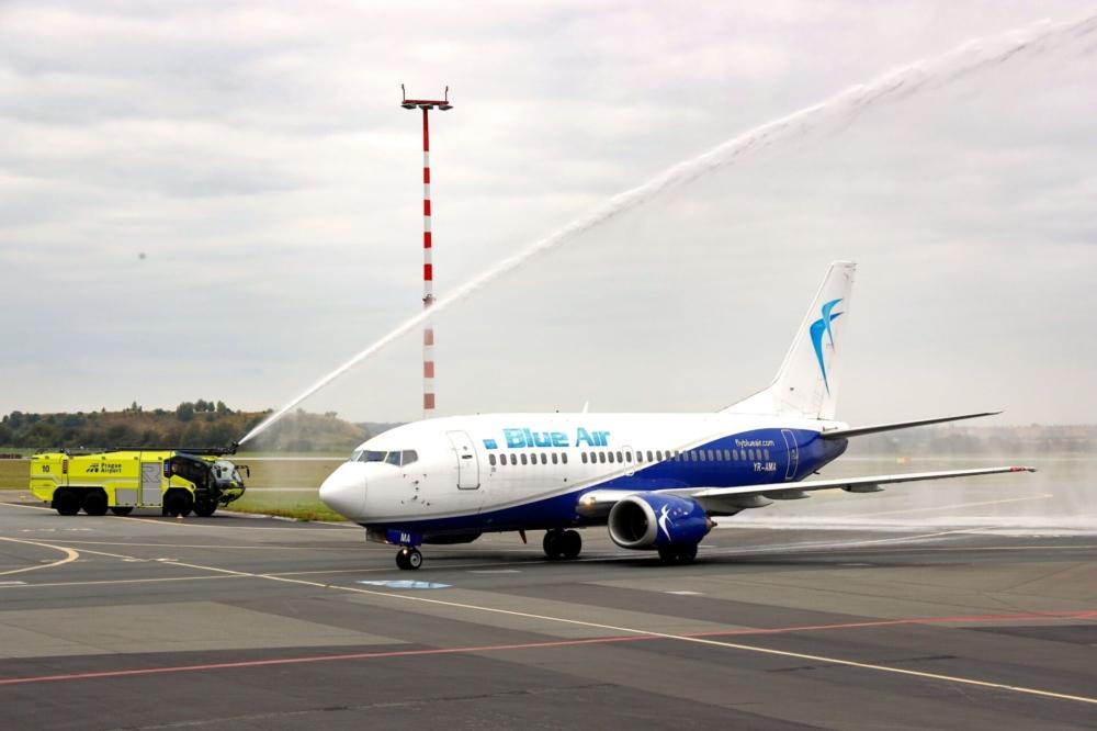 Blue Air Linate to Prague