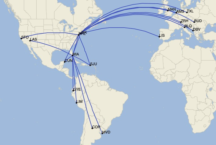 Opportunistic Flying: The Role Of American's Retired International Fleet