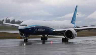 Boeing 777-9 Great Shot