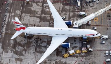 British Airways, Boeing 787, Short-Haul