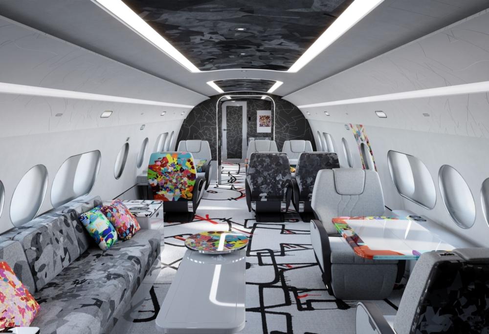Airbus ACJ TwoTwenty Cabin