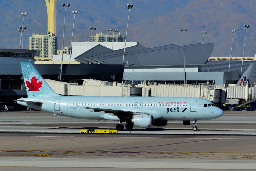 Air Canada Jetz A320