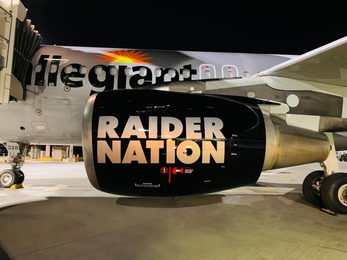 Allegiant Air Raiders A319