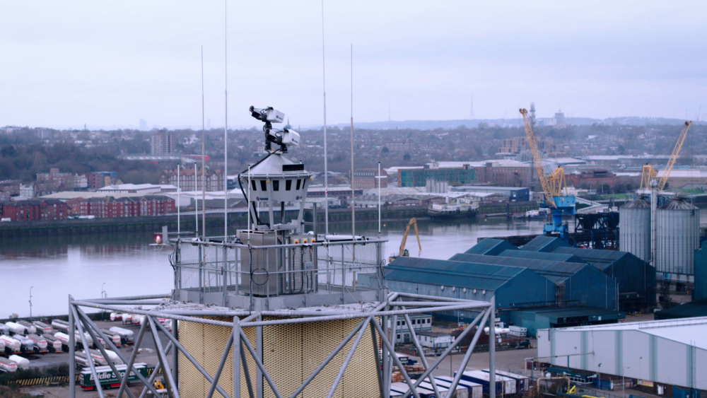 London City Airport remote ATC tower