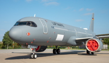 Luftwaffe first A321LR