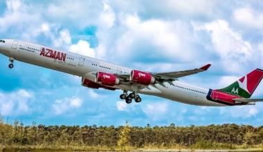 Azman Air Airbus A340-600