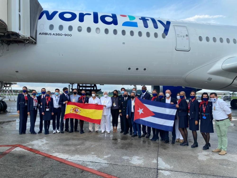 World2Fly Madrid-Havana