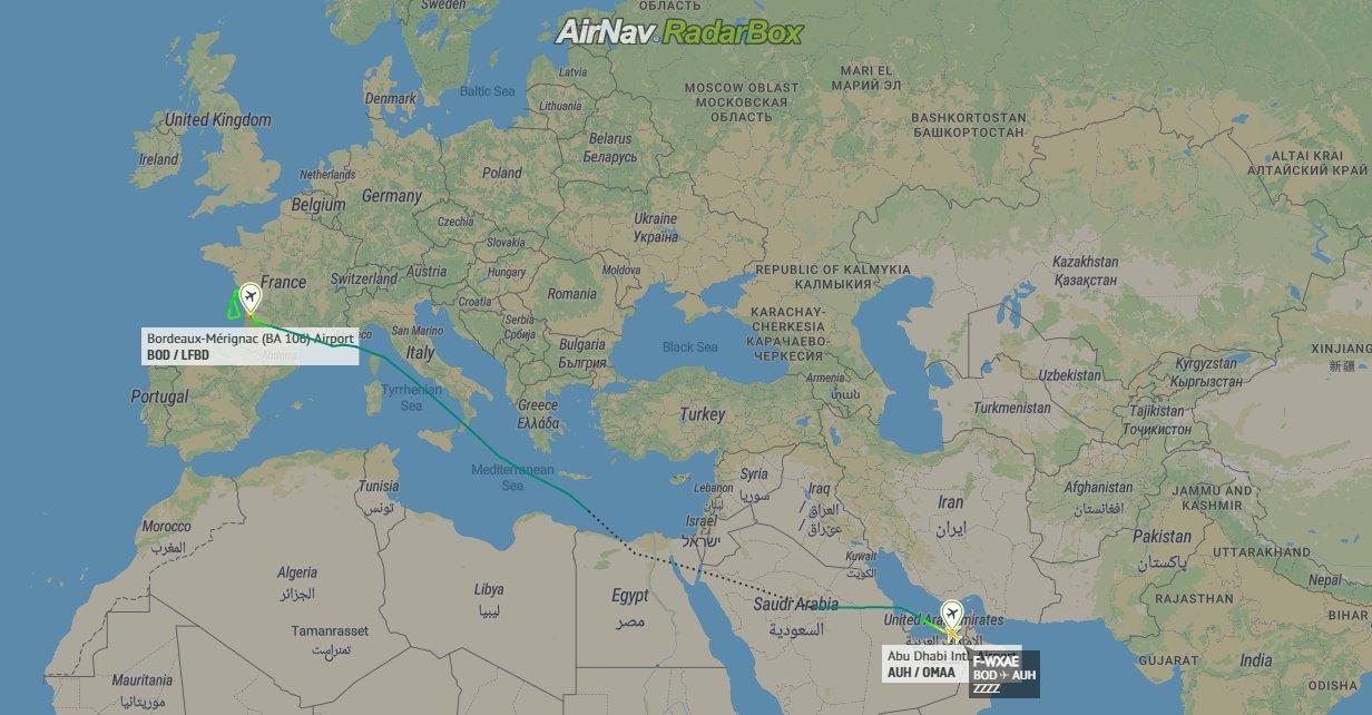 Etihad, Airbus A350, Abu Dhabi