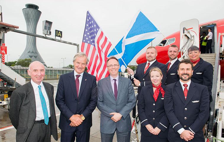 Edinburgh to the US