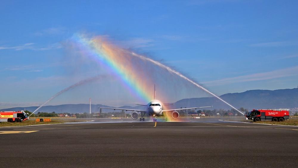 Eurowings Dusseldorf to Zagreb