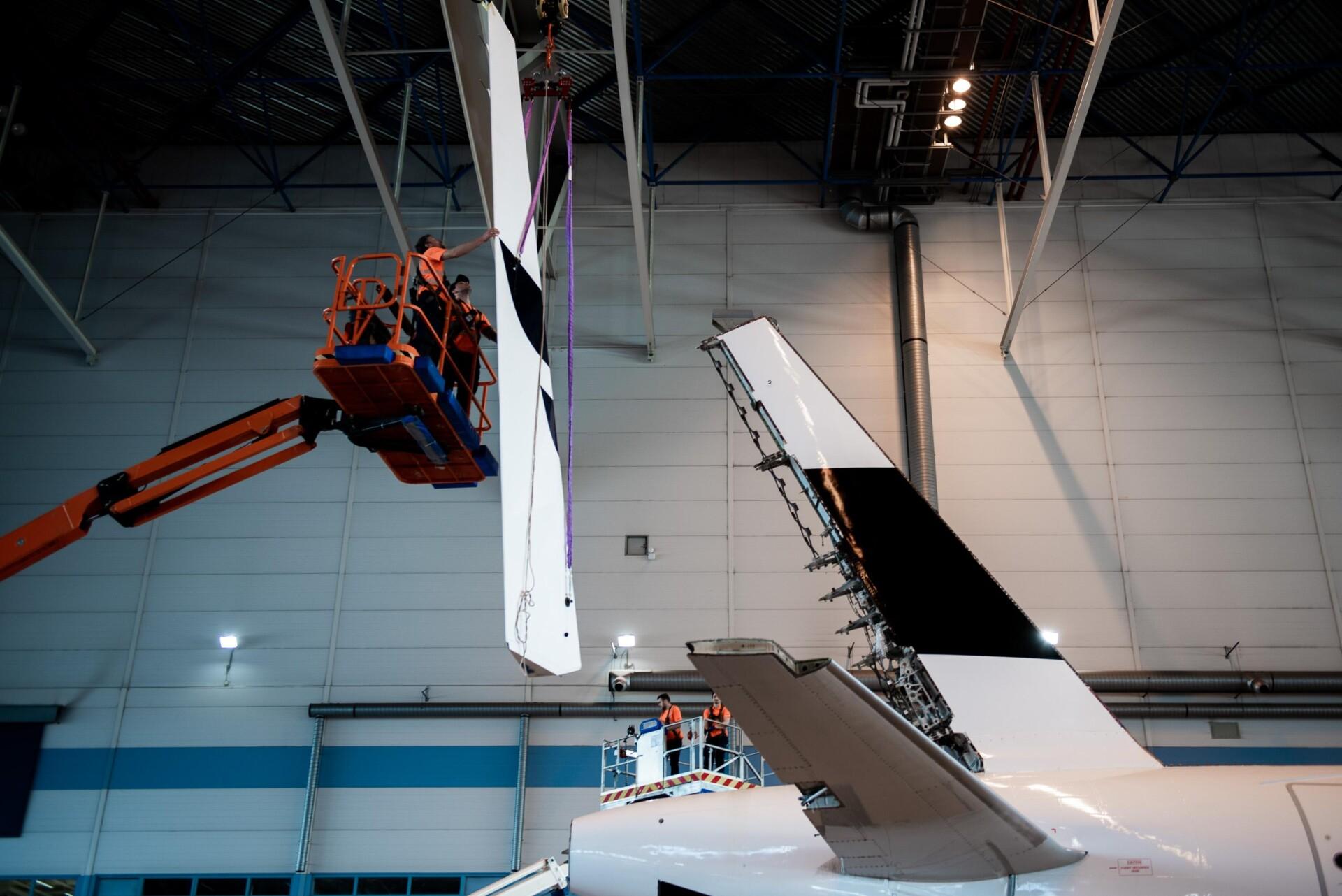Finnair, Airbus A319, Recycled