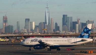 Airplanes at Newark Liberty Airport