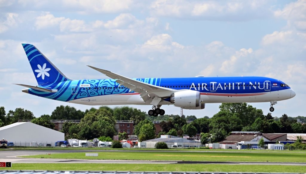 Air Tahiti Nui Boeing 787 Getty
