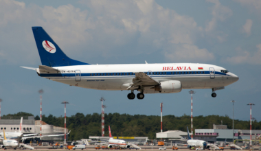 Belavia Boeing 737-300 Getty