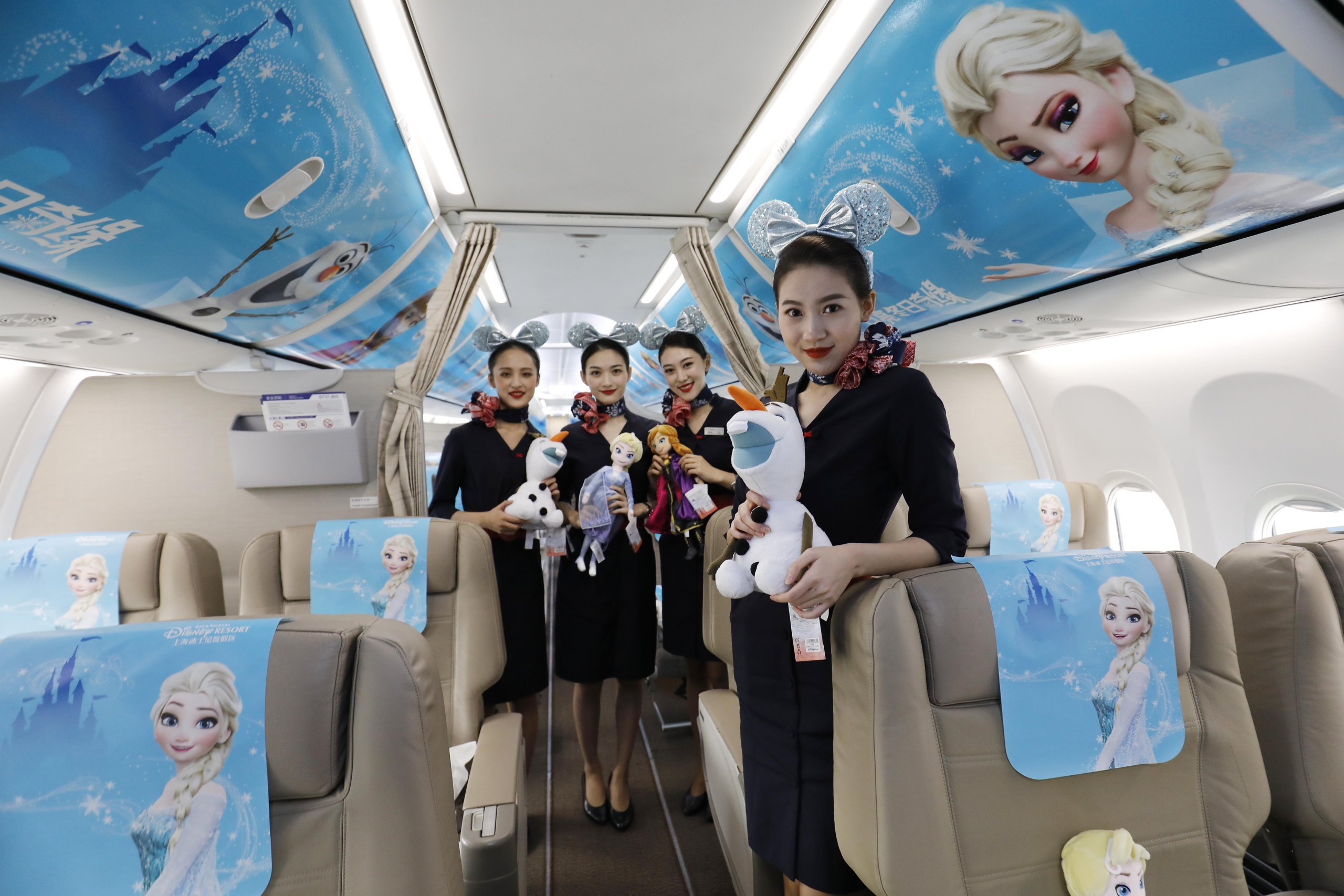Azul, Airbus A320neo, Mickey Mouse