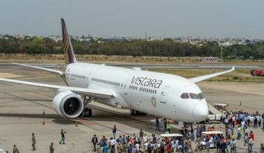 Vistara Boeing 787 Getty