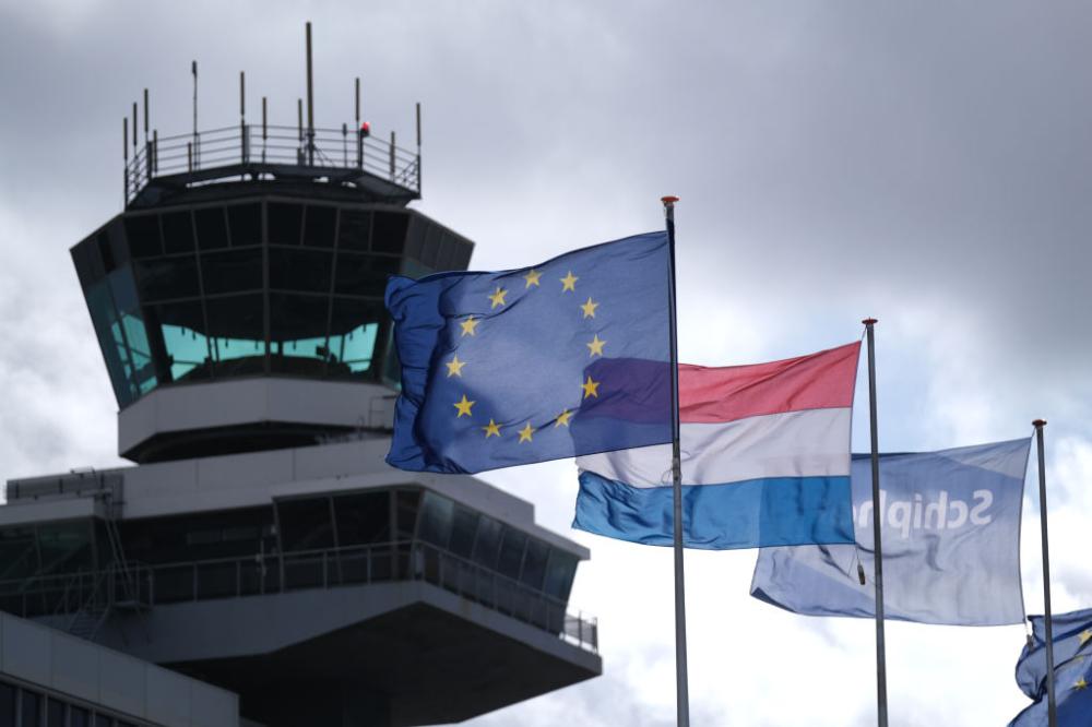 Netherlands Flag Amsterdam Getty