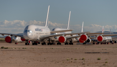 The Planes In Spain Park Mainly At Teruel Airport, As Pandemic Continues To Hobble Fleets