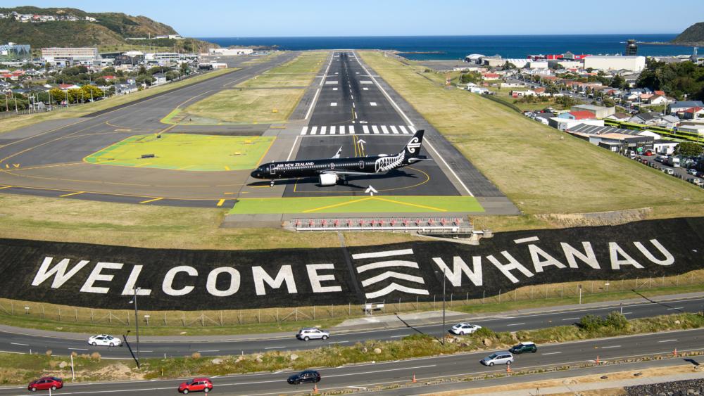 Air New Zealand at Wellington