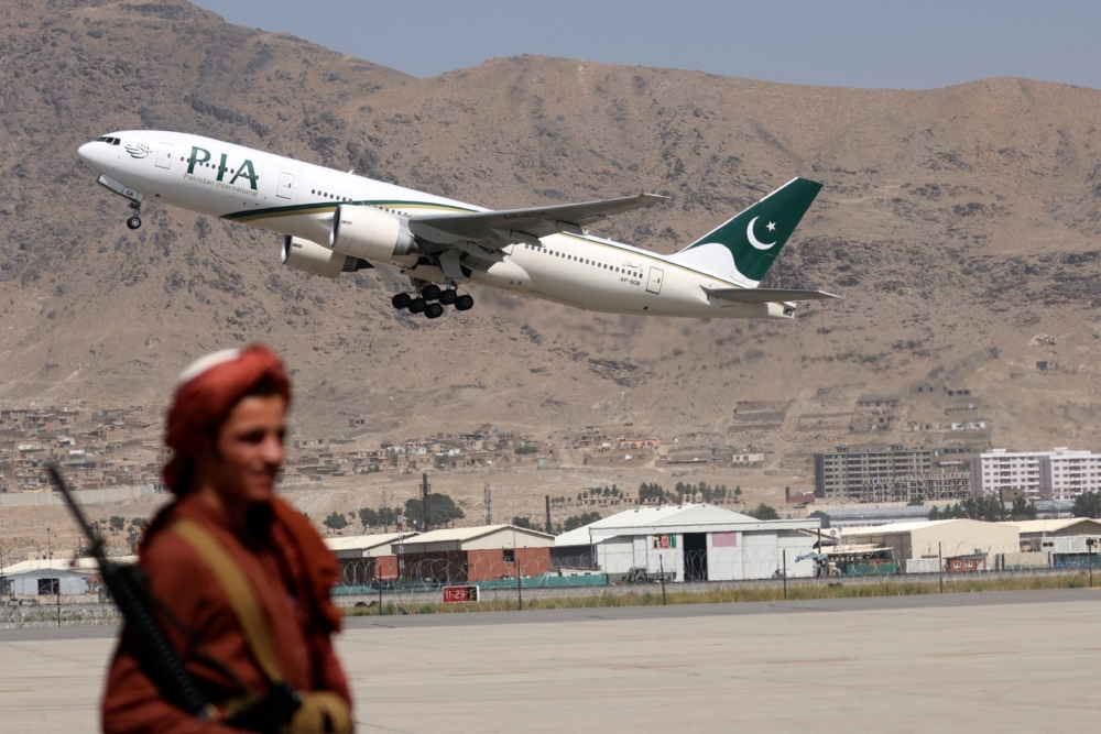 PIA Kabul return