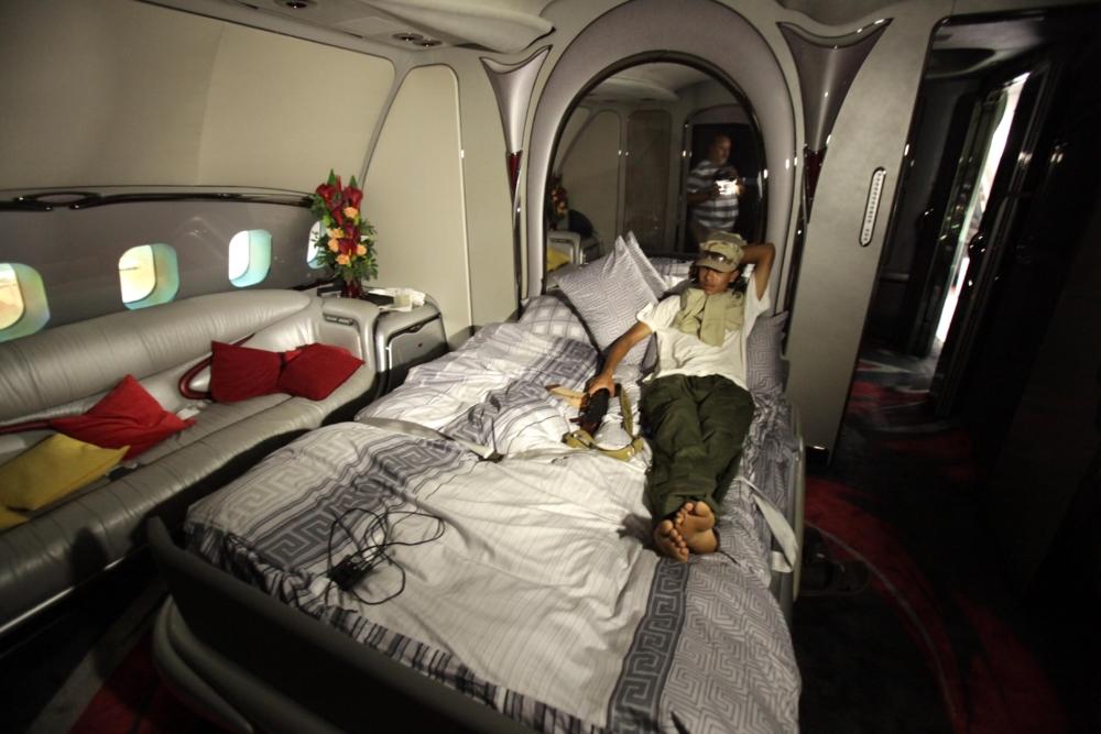 Gaddafi A340
