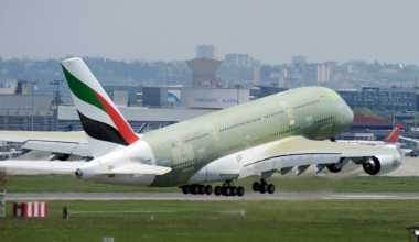 Emirates, Airbus A380, Deliveries