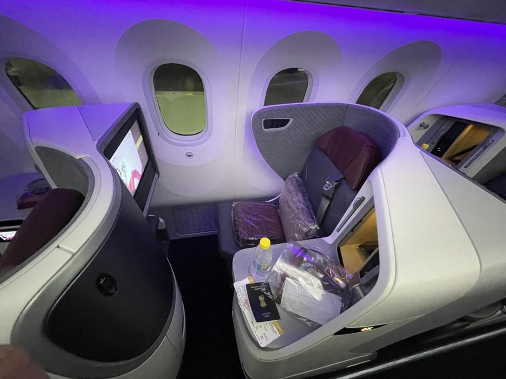 IMG_3846Vistara 787-9 Business Class Seat