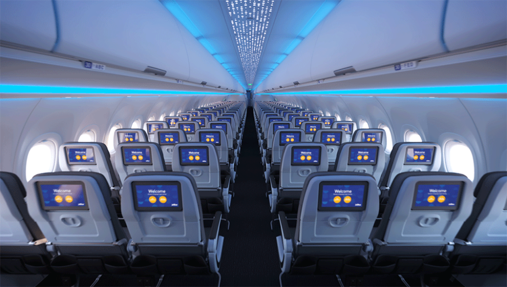 JetBlue Airspace cabin