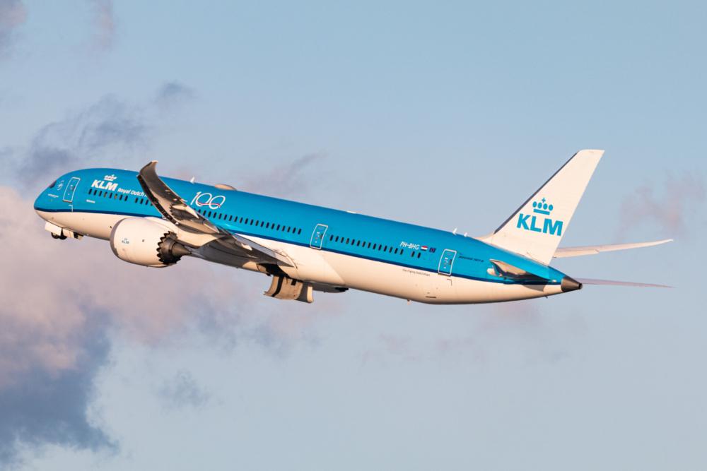 KLM B787