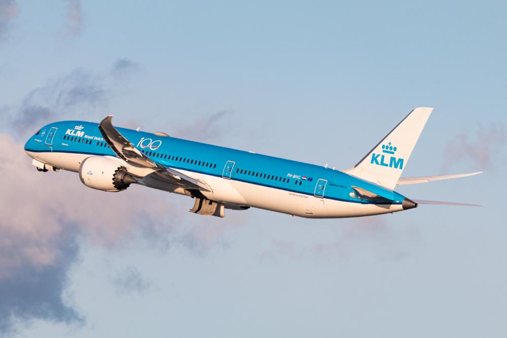 KLM B787-9