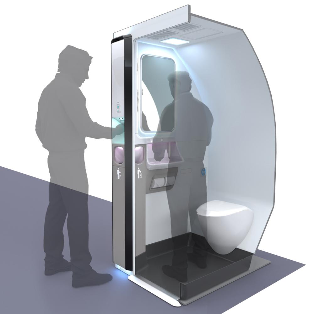 Safran Beacon lavatory