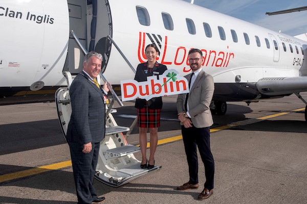 Loganair Aberdeen to Dublin