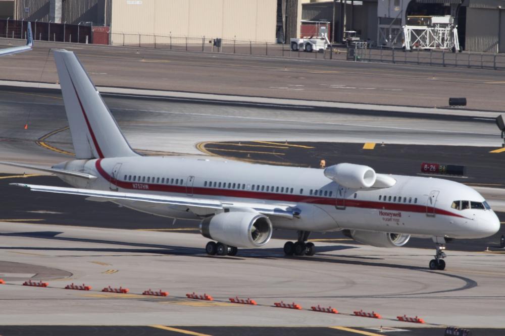 A Look At Honeywell's Bizarre Boeing 757 Flight Test Aircraft
