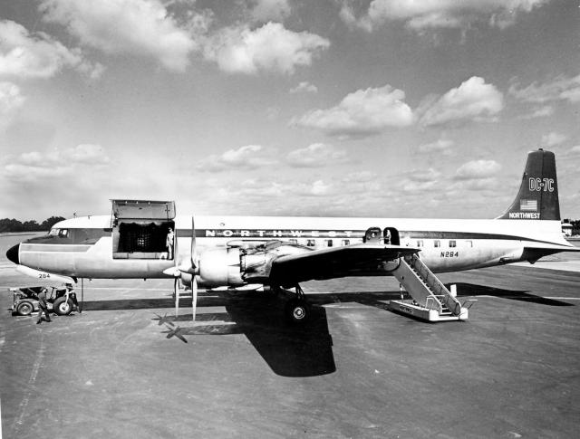 NW Orient DC-7CF