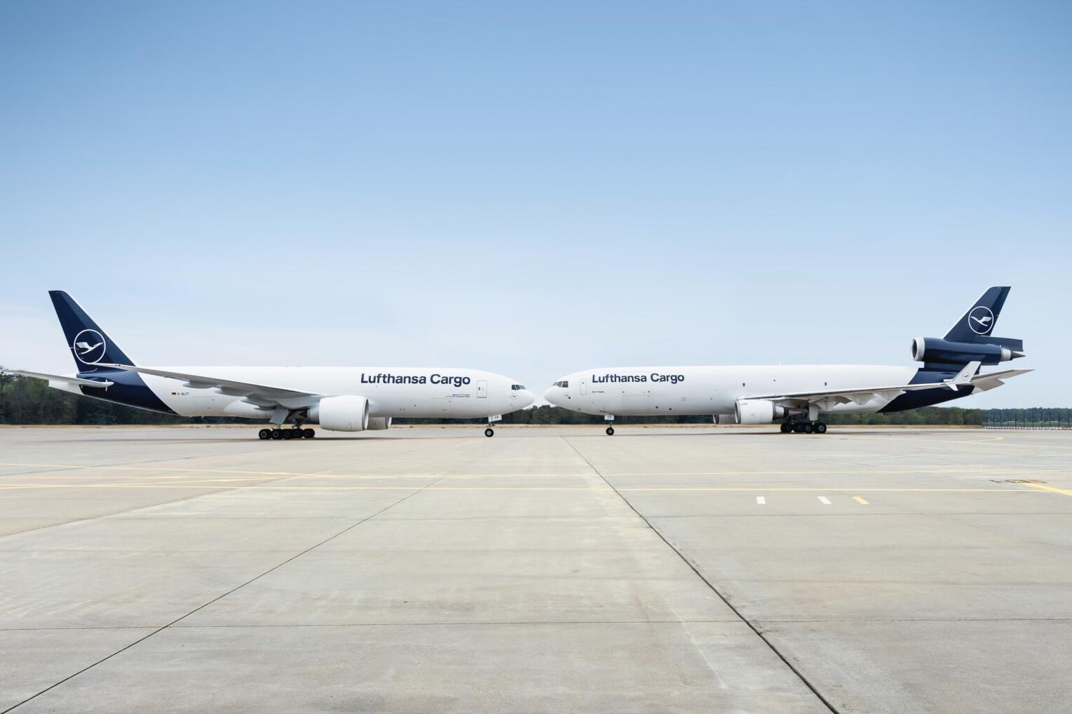 Lufthansa Cargo, MD-11 Retirement, Boeing 777F