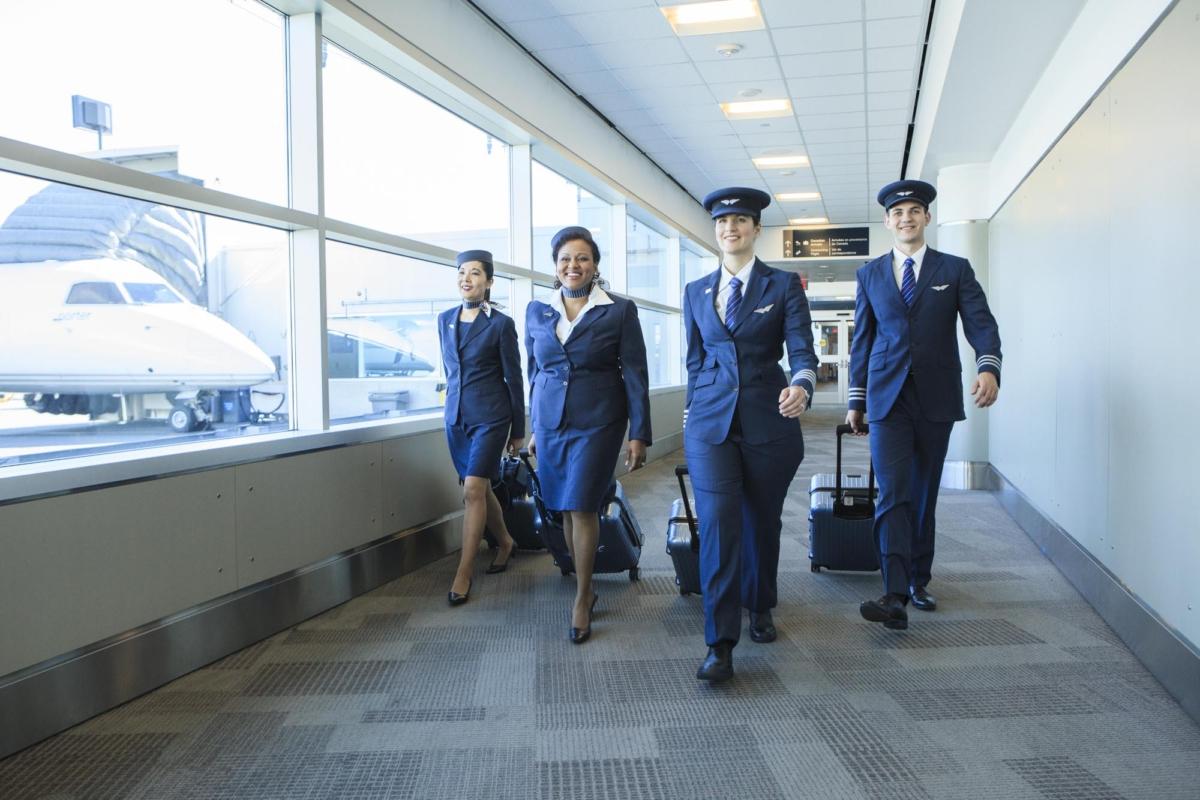 Porter Airlines crew